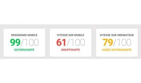Google: un outil pour tester la performance de son site web