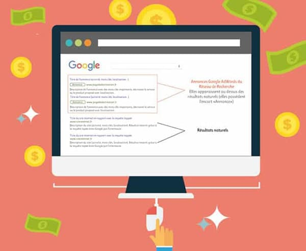 Annonces AdWords : Reseau de Recherche