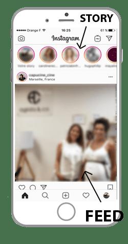 story feed instagram