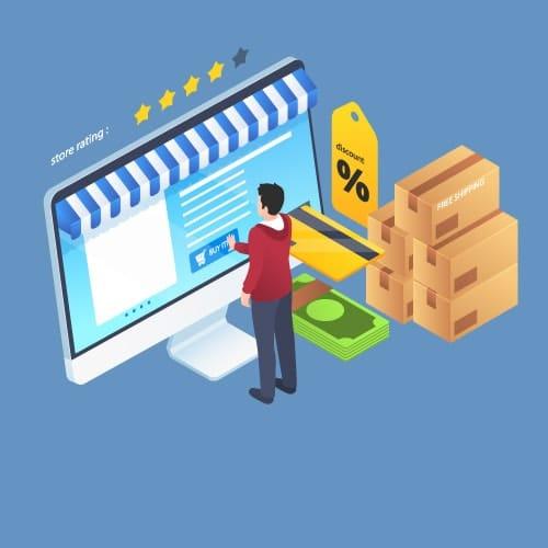 Interet des campagnes Shopping pour commercants et internautes