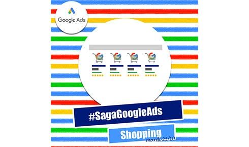 Campagne du Réseau Google Shopping