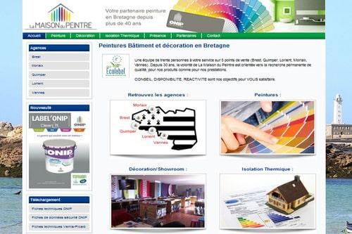 site web la maison du peintre
