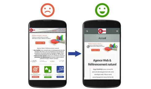 Mobile friendly critere SEO