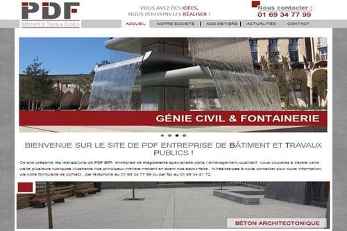 site internet pdf btp