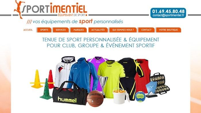 Sportimentiel equipement