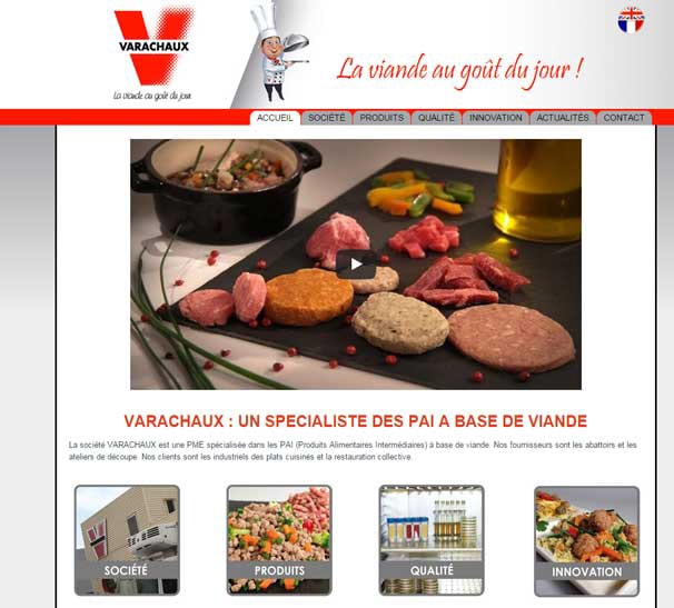 creation site web varachaux