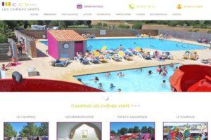 refonte site web camping bourgneuf en retz loire atlantique