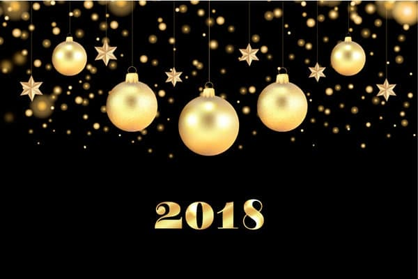 heureuse annee 2018