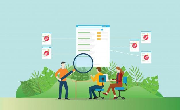 création de partenariats externes par la stratégie de netlinking